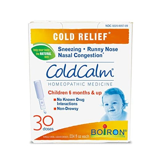 Boiron Coldcalm Baby