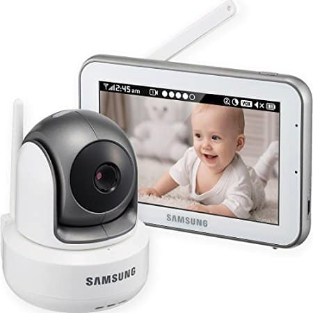 The Samsung SEW BrightVIEW Touch Screen Baby Video Monitoring System