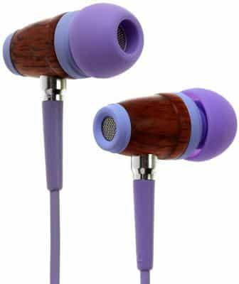 Symphonized Kids Volume Limited Premium Wood Earbuds